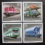 Poštovní známky DDR 1979 Železniční doprava Mi# 2414-17