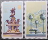 Poštovní známky DDR 1979 Kašny Mi# 2441-42