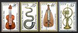 Poštovní známky DDR 1979 Hudební nástroje Mi# 2445-48