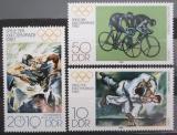 Poštovní známky DDR 1980 LOH Moskva Mi# 2528-30