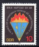 Poštovní známka DDR 1982 Kongres FIR Mi# 2736