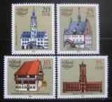 Poštovní známky DDR 1983 Historické radnice Mi# 2775-78