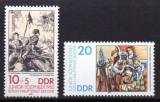 Poštovní známky DDR 1983 Umění, výstava JUNIOR-SOZPHILEX Mi# 2812-13