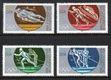 Poštovní známky DDR 1983 ZOH Sarajevo Mi# 2839-42