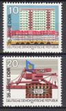 Poštovní známky DDR 1984 Vznik republiky, 35. výročí Mi# 2888-89