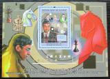 Poštovní známka Guinea 2011 Světoví šachisti Mi# Block 2041 Kat 18€