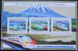 Poštovní známky Guinea 2011 Japonské moderní lokomotivy Mi# 9025-27 Kat 16€