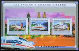 Poštovní známky Guinea 2011 Německé moderní lokomotivy Mi# 9028-30 Kat 16€