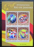 Poštovní známky Sierra Leone 2016 LOH Rio de Janeiro Mi# 7003-06 Kat 11€