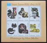 Poštovní známky Grenada 1993 Umění, Han Meilin Mi# 2626-31 Kat 13€