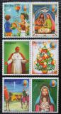 Poštovní známky Paraguay 1984 Vánoce, papež Jan Pavel II. Mi# 3726-31