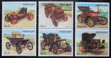 Poštovní známky Paraguay 1986 Historické automobily Mi# 3965-70