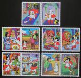 Poštovní známky Paraguay 1982 Kocour v botách Mi# 3482-87