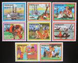 Poštovní známky Paraguay 1985 Román Tom Sawyer s kupónem Mi# 3887-93 Kat 6.50€