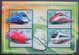 Poštovní známky SAR 2012 Moderní lokomotivy Mi# 3827-30 Kat 16€