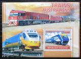 Poštovní známka Togo 2010 Australské lokomotivy Mi# Block 566 Kat 12€