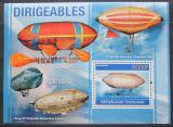 Poštovní známka Togo 2010 Vzducholodě Mi# Block 554 Kat 12€
