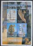 Poštovní známky Niger 1998 Staré plachetnice Mi# N/N