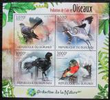 Poštovní známky Burundi 2012 Ohrožení ptáci Mi# 2565-68 Kat 10€