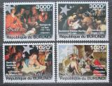 Poštovní známky Burundi 2011 Vánoce, umění Mi# 2194-97 Kat 9.50€