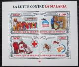 Poštovní známky Burundi 2013 Boj proti malárii Mi# 3158-61 Kat 9.90€