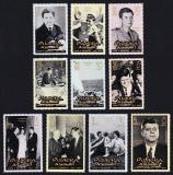 Poštovní známky Fudžajra 1965 Prezident John Fitzgerald Kennedy Mi# 28-39 Kat 14€