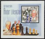 Poštovní známka Mosambik 2011 Andor Lilienthal DELUXE neperf. Mi# 4511 B Block