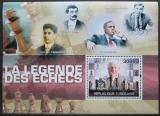Poštovní známka Togo 2010 Slavní šachisti Mi# Block 536 Kat 12€