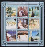 Poštovní známky Mosambik 2001 Umění, Paul Delvaux Mi# 2025-33 Kat 11€