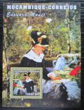 Poštovní známka Mosambik 2001 Umění, Edouard Manet Mi# Block 107 Kat 8€