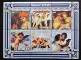 Poštovní známky Mosambik 2001 Umění, vánoce Mi# 2139-44 Kat 11€