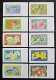 Poštovní známky Vanuatu 2006 Květiny TOP SET Mi# 1284-93 Kat 32€