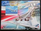 Poštovní známka SAR 2012 Concorde Mi# Block 976 Kat 12€