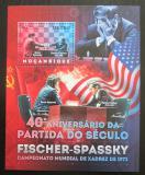 Poštovní známka Mosambik 2012 MS v šachu,Spasskij - Fischer Mi# Block 694 Kat 10€
