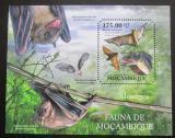 Poštovní známka Mosambik 2011 Netopýři Mi# Block 509 Kat 10€