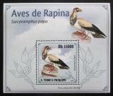 Poštovní známka Svatý Tomáš 2009 Kondor královský DELUXE Mi# 4267 Block
