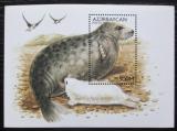 Poštovní známka Azerbajdžán 1997 Tuleň kaspický Mi# Block 31