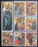 Poštovní známky Paraguay 1982 Umění, život Krista s kupónem Mi# 3568-74 Kat 10€