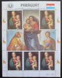 Poštovní známky Paraguay 1982 Umění, Raffael, vánoce Mi# 3559 Bogen Kat 19€