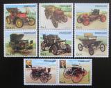 Poštovní známky Paraguay 1986 Klasické automobily s kupónem Mi# 3965-71 Kat 6.50€