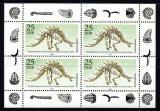 Poštovní známky DDR 1990 Kostra dinosaura Mi# 3325 Bogen