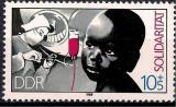 Poštovní známka DDR 1988 Solidarita Mi# 3202