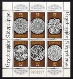 Poštovní známky DDR 1988 Okrasné knoflíky Mi# 3215-20
