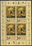Poštovní známky DDR 1989 Umění, Werner Tübke Mi# 3271 Bogen