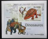 Poštovní známka Svatý Tomáš 2011 Dinosauři DELUXE neperf. Mi# 4903 B Block