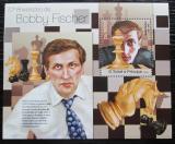 Poštovní známka Svatý Tomáš 2013 Bobby Fischer, šachy Mi# Block 859 Kat 10€