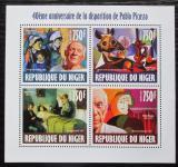 Poštovní známky Niger 2013 Umění, Pablo Picasso Mi# 2476-79 Kat 12€