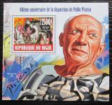Poštovní známka Niger 2013 Umění, Pablo Picasso Mi# Block 237 Kat 10€