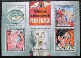 Poštovní známky Guinea-Bissau 2013 Umění, Pablo Picasso Mi# 6760-64 Kat 14€