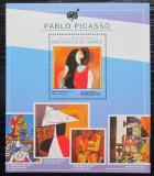 Poštovní známka Guinea 2014 Umění, Pablo Picasso Mi# Block 2450 Kat 16€